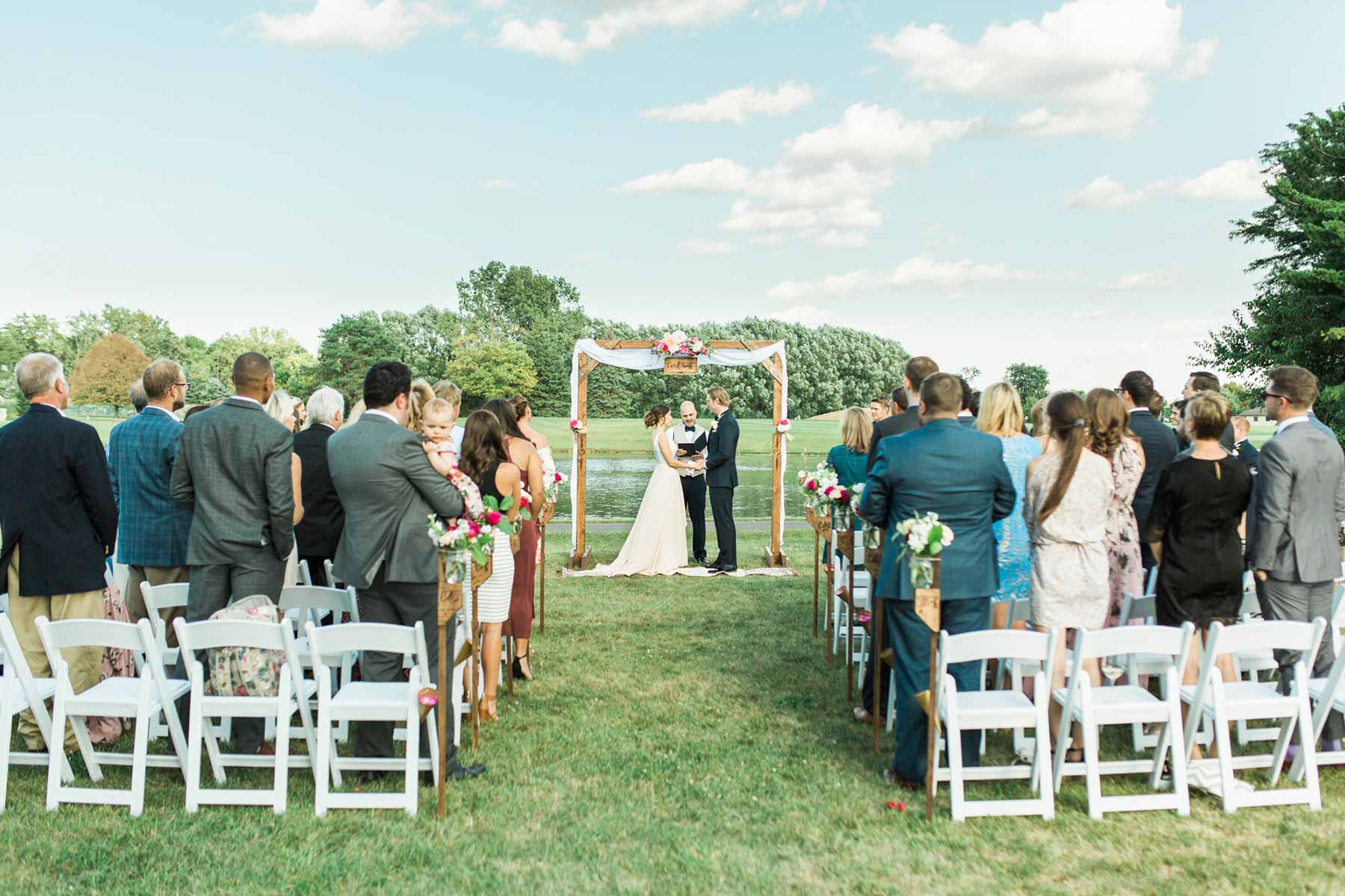 Little Turtle outdoor ceremony