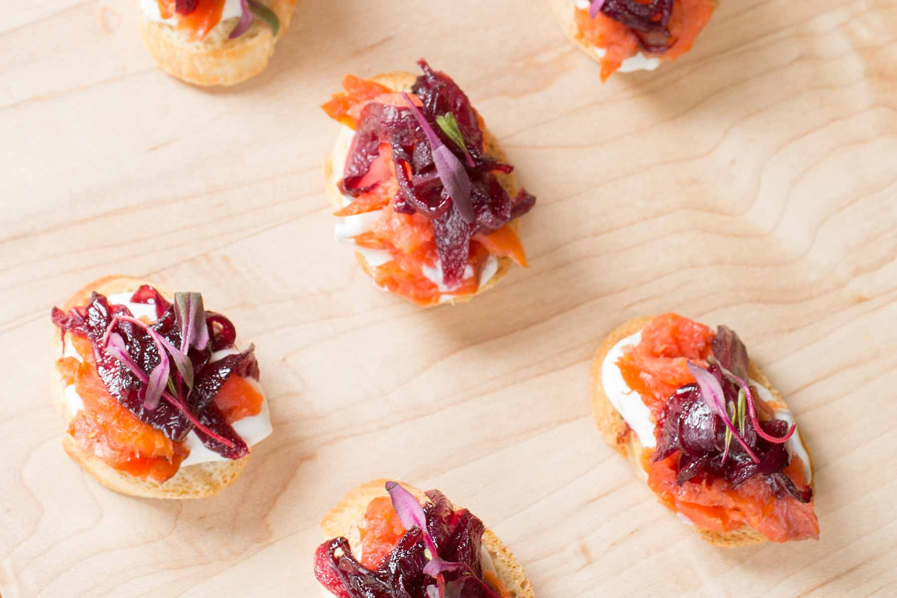 Taste Catering & Events hors d'oeuvres